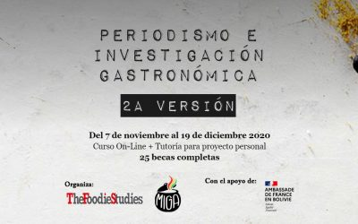 Periodismo e Investigación Gastronómica