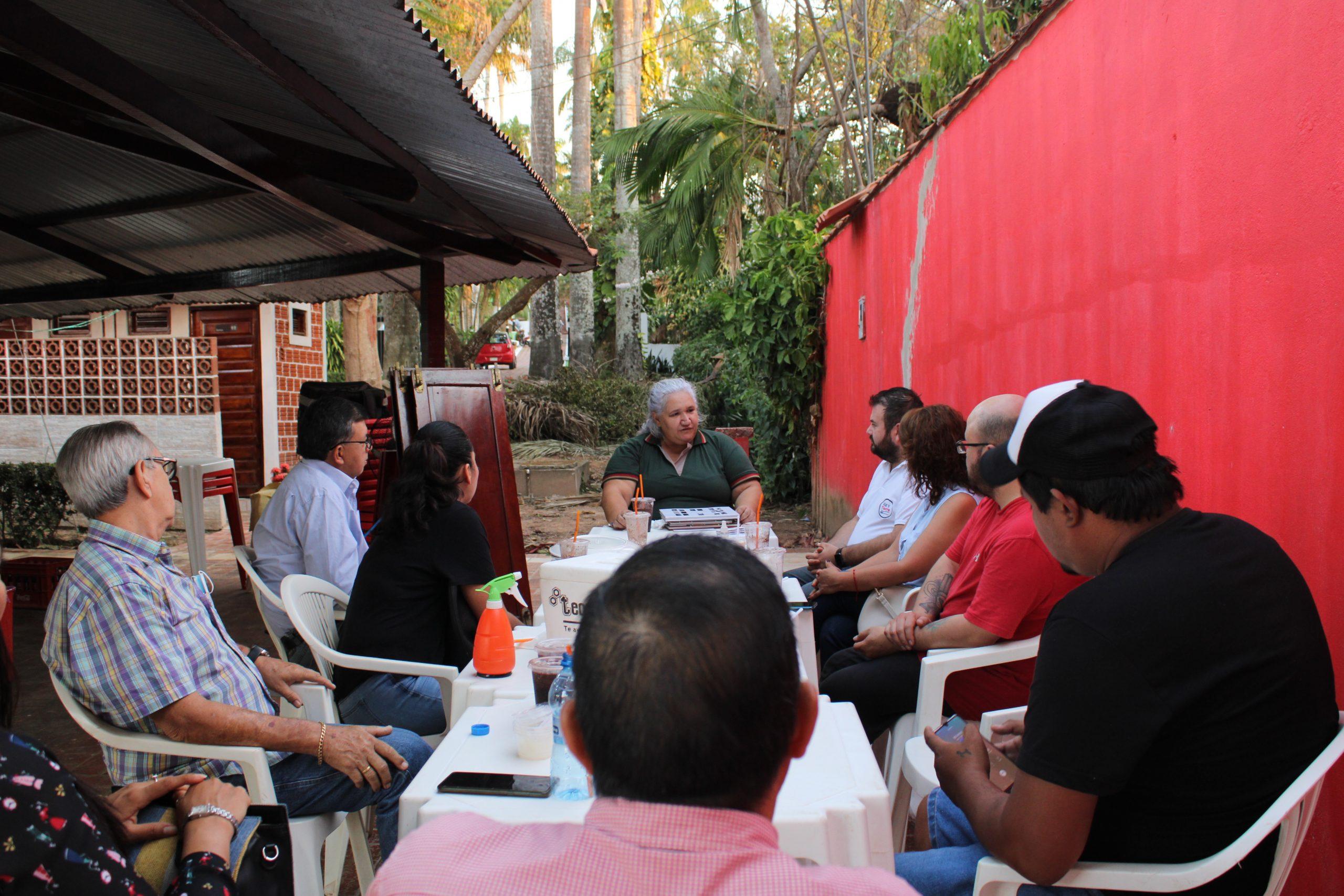 Reunión con la Cámara de Empresarios Gastronómicos de Pando